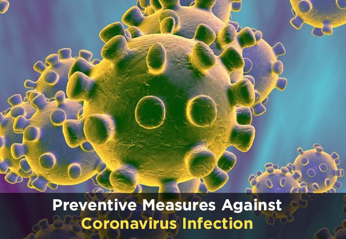 Preventive Measures Against Coronavirus Infection